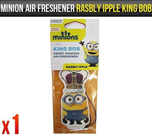 Despicable Me Minions rasbly ipple Bob Duft Auto-Lufterfrischer Lizenzprodukt x1