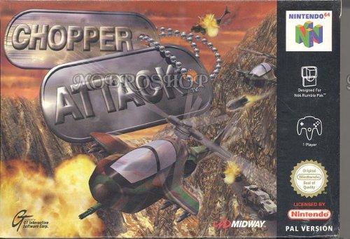 Chopper attack - Nintendo 64 - PAL