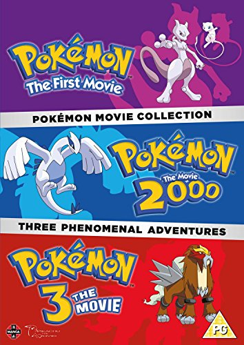 Pokemon Triple Movie Collection: Movies 1-3 [3 DVDs] [UK Import]