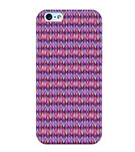 Fuson Premium Back Case Cover Animated Pattern With Brown Background Degined For Apple iPhone 6S