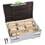 Festool DS/XL D8/D10 306 X BU XL Assortiment de Domino en bois de hêtre – Multicolore (306-piece)