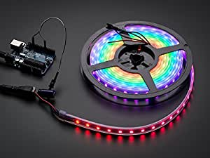 Adafruit NeoPixel Digital RGB LED Weatherproof Strip 60 LED -4m