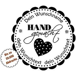 Handmade Stempel | HAND gemacht - mit Herz