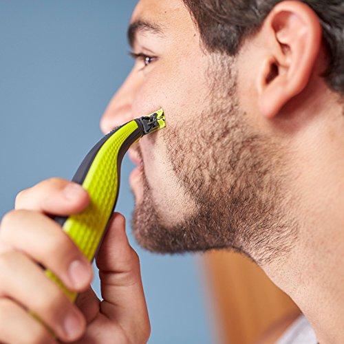 Philips OneBlade QP2530/30   Recortador de barba  recorta  perfila y afeita  recargable
