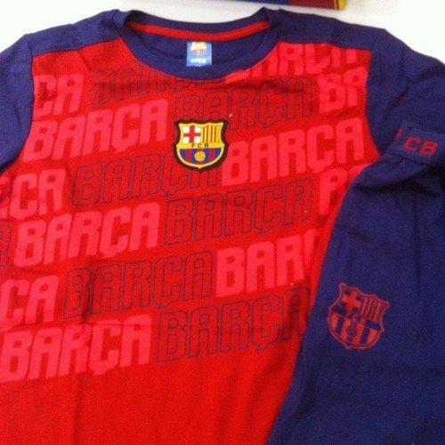 Barça Pijama T12 letras invierno