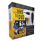 VHS to Digital Converter, VHS to DVD Converter Windows 10, Audio Video Capture