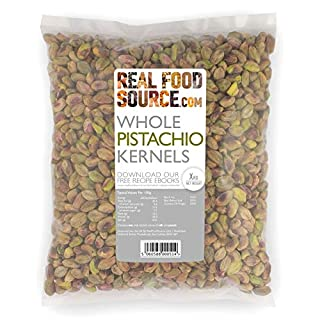 RealFoodSource Natural Pistachio Kernels 1KG