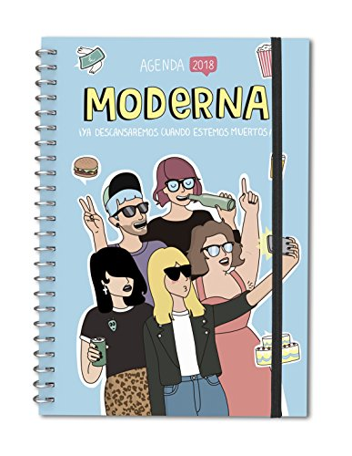 Agenda anual 2018 Moderna de Pueblo (TANTANFAN)