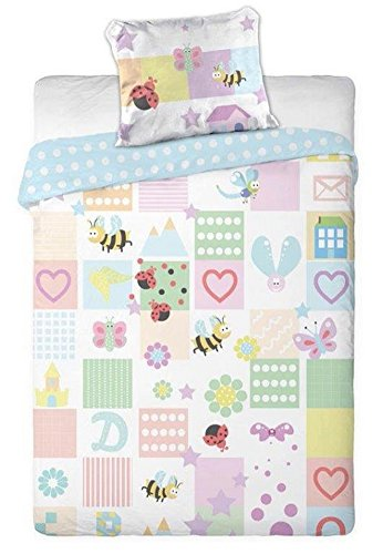 Baby home biancheria da letto per bambini biancheria da letto 100x 135cm (Oeko Tex Standard 100)