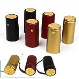 gold K18 Schrumpfkapseln 300 Stück Flaschenkapseln Siegelkapseln Kapseln