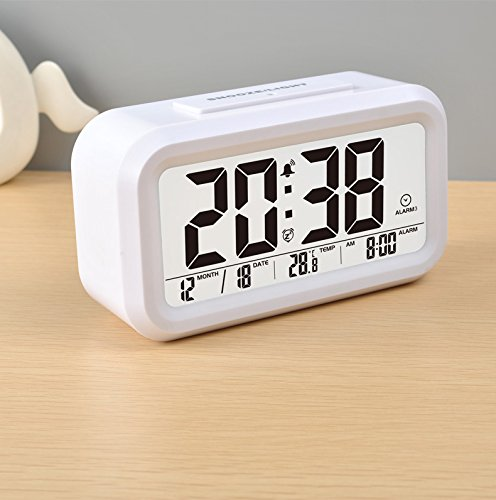 Tenieya-Digital-Wecker-mit-3-Alarmen-fr-optionale-Wochentag-Modus-Snooze-Smart-Night-Light