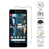 Realtech Tempered Glass Screen Protector with 0.33mm Ultra Slim 9H Harness, 2.5D Round Edge, Crystal Clear for Google Pixel 2