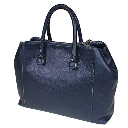 Terrida Marco Polo sac à main taille small - LE1074 (Violet) Bleu