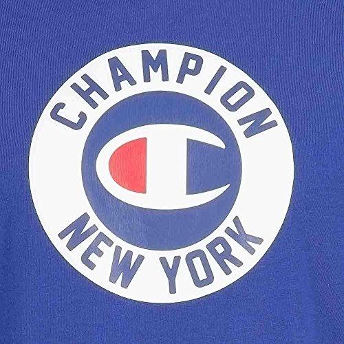 Champion Classic Tee Herren T-Shirt grau blau