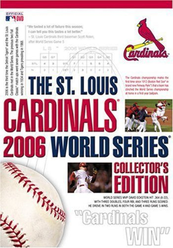 The St. Louis Cardinals 2006 World Series Collector's Edition by St. Louis Cardinals Louis Cardinals Video