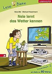 Nele lernt das Wetter kennen: Lesebiene Stufe 3