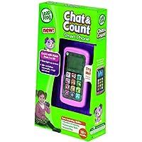 LeapFrog - Telefono movil, habla y cuenta, Violeta (Cefa Toys 00883)