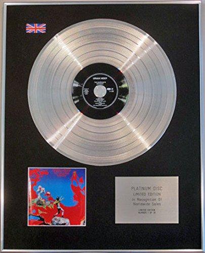 "URIAH HEEP-Limited Edition CD Platinum MAGICIANS disco """