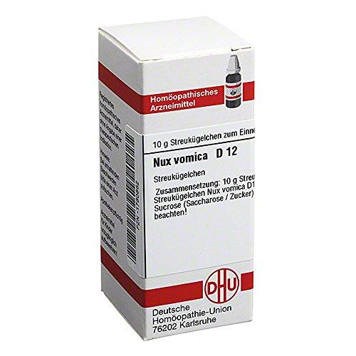 Nux Vomica D 12 Globuli 10 g