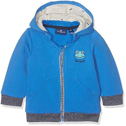 TOM TAILOR TOM TAILOR Kids Baby-Jungen Kapuzenpullover Detachable Hood Jacket Blau (Medium DEEP Sky Blue 6993) 68