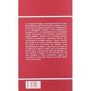 La teología hoy: Perspectivas, principios y criterios (DOCUMENTOS)