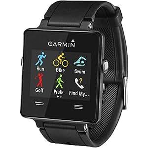 Garmin Vívoactive Smartwatch GPS con Monitoraggio Attività e Profili Sport, Nero