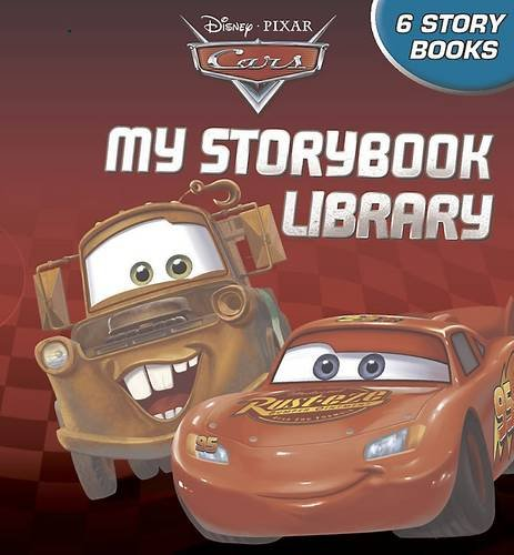 Image of Disney Cars My Storybook Library with Minnie toy. (Disney Collectible Little Lib)