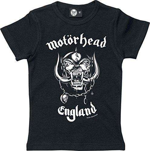 Motörhead England Maglia bimbo/a nero 92