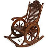 Hindoro Amazing Wooden Rocking Chair / eezy chair / Relaxing Chair