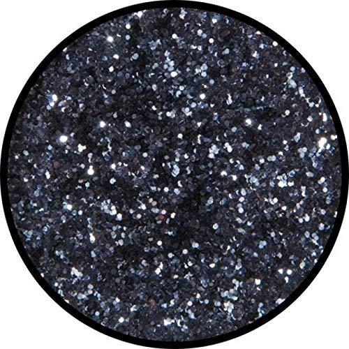 Eulenspiegel 902554 - Profi Effekt Polyester-Streuglitzer - Gunmetal (Anthrazit)  - 2g