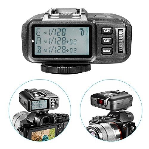 Neewer® N1T-S TTL 2.4 G 32 Kanäle Funk-Blitz Auslöser-Sender für Sony Kameras mit Funk Gruppiersystem