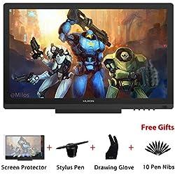 HUION KAMVAS GT-191 HD 19.5 Inch Tableta Grafica Dibujo con Pantalla, 8192 Niveles de Presión del Lápiz,Tableta Gráfica 1920 x 1080 Monitor (GT-191)