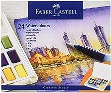 Faber-Castell Peinture aquarelle, 24 Couleurs