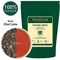 VAHDAM, té de hinojo, 100 gramos (50 tazas) | ESPECIAS 100% NATURALES | Hojas de té chai con especias | Delicioso y saludable | Té diario de desintoxicación | Masala Chai Tea, de la India