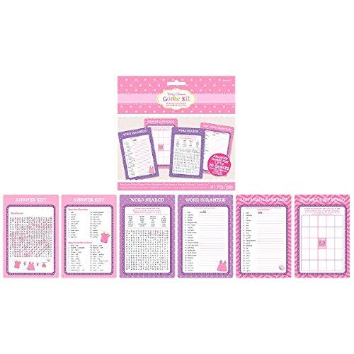 Amscan 381489mit Love Girl Game Kit