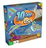 Image for board game 10 Days In The USA Board Game by Out of the Box