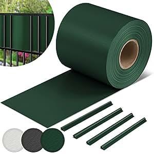 jago hochwertige pvc sichtschutzstreifen sichtschutz zaunblende zaunfolie windschutz. Black Bedroom Furniture Sets. Home Design Ideas