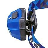 TEQIN Superhelle CREE LED Scheinwerfer Hochleistend Taschenlampe Wasserabweisend USB Kabel Wiederaufladbar Scheinwerfer Lampe für Radfahren Camping Andere Outdoor Aktivitäten(Blau) - 5