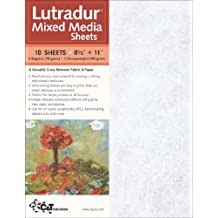 Lutradur Mixed Media Sheets