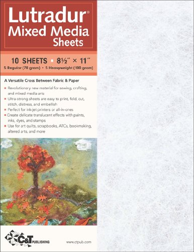 C&T Publishing Lutradur Mixed Media Sheets por C & T Publishing