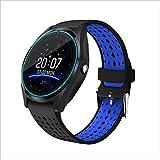 Human Smart Phone Uhr GPS-Positionierung Kamera Mehrsprachige Tracking-Anti-Verlorene Wasserdichte Uhr,Blue
