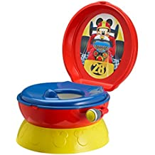 TOMY First Years Disney Mickey Mouse Y9909 - Orinal con sonidos, diseño Mickey Mouse, color rojo
