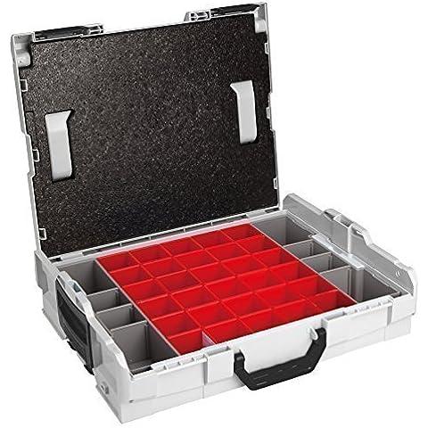 Bosch Sortimo L-Boxx 102 Gr1 incl. Divisori per scatola A3 + Pannelli copertura
