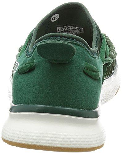 Keen Uneek O2 W, Sneaker a Collo Basso Donna Evergreen/Pine Needle