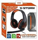 Subsonic X-Storm Gaming Headset-Kopfhörer 3,5-mm-Klinkenanschluss