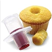 Fulldream 1pc Cake Corer Cutter Plunger Pastry Cupcake Decorating Divider Filler Model New