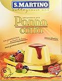 S.Martino - Panna Cotta ai Frutti di Bosco Senza Glutine - Astuccio 105G - [confezione da 11]