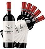 Vino Tinto Rioja - Ortega Ezquerro Crianza 2015 - 6 botellas de 75 cl. - Crianza Gourmet - Bodega Familiar