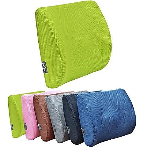 GreatIdeasTM Ultimate Breathable 3d Mesh Lumbar Car Cushion by