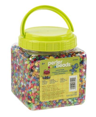 Perler Bead Jar Beads (11000-Piece)